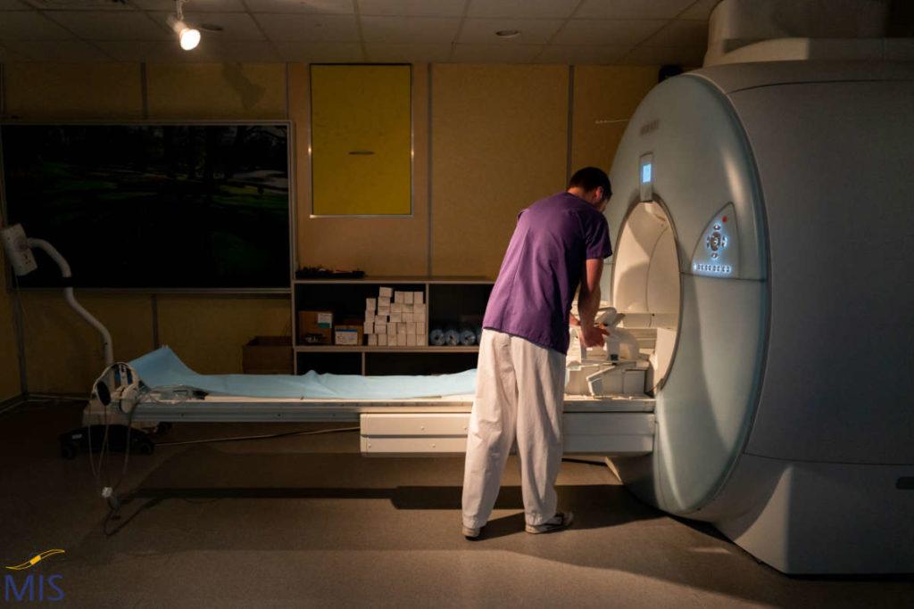 Appareil d'Imagerie par Résonance Magnétique de la Clinique du Pré