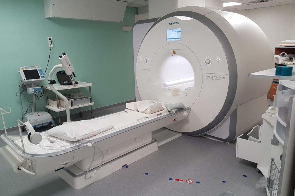 IRM 3 Teslas du Service d'imagerie du Centre hospitalier